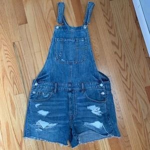 AE Overall Shorts